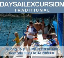 Greek Traditional Yacht Day PRIVATE   Rhodes ENG