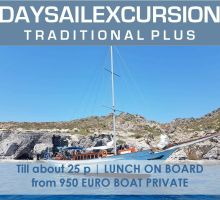 Greek Traditional Yacht Day PLUS PRIVATE   Rhodes ENG