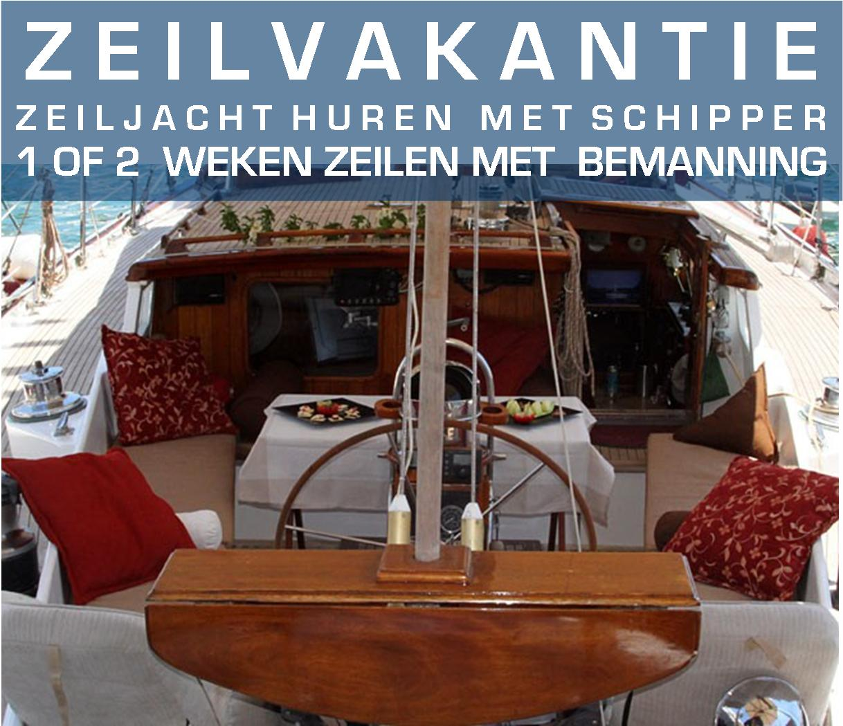 Zeilweek met schipper  vanaf Rhodos | Sailweek with schipper from on Rhodes | Sail in Greece | sail-in-greece.net