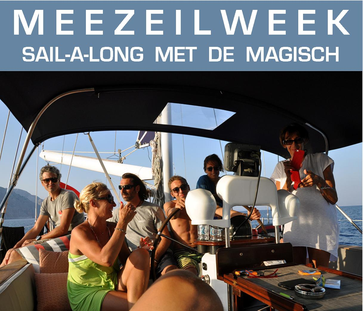 Meezeilen  vanaf Rhodos | Sail-a-long from on Rhodes | Sail in Greece | sail-in-greece.net