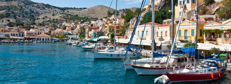 Zeilvakantie met de hele familie Symi en Rhodos |  Sailing holidays with the whole family Symi and Rhodes | Sail in Greece Rhodes | sail-in-greece.net